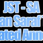 Algoritma JST (Jaringan Saraf Tiruan) dengan teknik SA (Simulated Annealing)