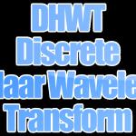 Algoritma DHWT (Discrete Haar Wavelet Transform)