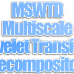 Algoritma MSWTD (Multiscale Wavelet Transform Decomposition)