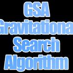 Algoritma GSA (Gravitational Search Algorithm)