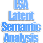 Algoritma LSA (Latent Semantic Analysis)